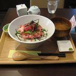 カフェ モコ - 料理写真:ネギトロ丼(2016.03)