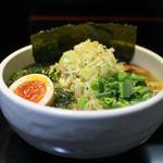 あらし - 料理写真:あらしMAX塩ラーメン☆