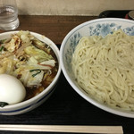 48414261 - 特製もりそば 大(400g)770円 + 野菜(ミックス)120円 + ゆで玉子 50円