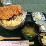 きむら亭 - きむら亭風カツ玉丼(大盛)【料理】