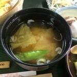 きむら亭 - 味噌汁【料理】