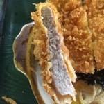 きむら亭 - トンカツも厚くて美味しいお肉です【料理】