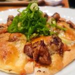 暖 - 2016.3 牛すじのピザ