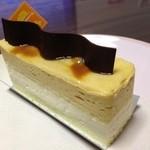 パティスリーシャンプノア - 料理写真:塩キャラメルレアチーズ