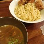 つけ麺 ラーメン ヤゴト55 - から揚げつけ麺