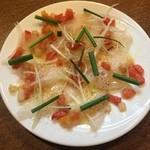炭焼き&ワイン サンテ - 鮮魚のカルパッチョ