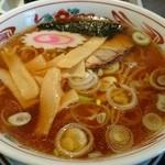 五百川食堂 - あっさりラーメン。