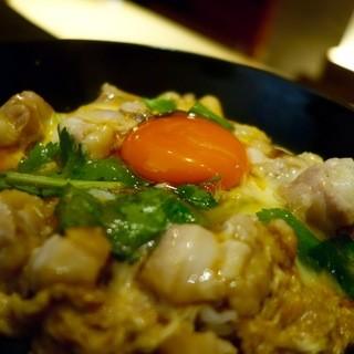 焼鳥 山もと - 料理写真:自慢の逸品 親子丼