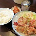 丸髙家 - ランチセットの唐揚げセット