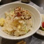 禅紫 - 16.03 竹の子土鍋炊きご飯(1,000円)