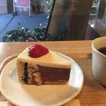 リマカフェ - 2016.2 チョコレートとベリーのショートケーキ