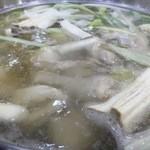 48430964 - あぁ~やっぱりタッカンマリって大好き!!水炊き大好き福岡市民には韓国料理って良く合うんですよね~