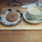 おかゆ専門店・甘味処 なつかし館 蔵 - おやきとコーヒーのセット