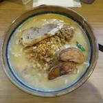 壱正 - 北海道味噌らーめん 大盛り 炙りチャーシュー1枚