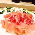 キッチン&バル コンパス - プリンチペ社 生ハムの盛り合わせ(3種)