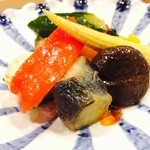 キッチン&バル コンパス - 彩り野菜のピクルス