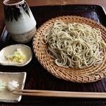そば家 和味 - 野菜天ぷら付きせいろ 1380円 (^^b
