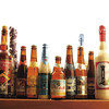 その他、全100種類の自社輸入のボトルベルギービールを揃えております。