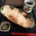 カフェギャラリー柚 - 「あべ川もち」 ¥480(税込)