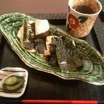 カフェギャラリー柚 - 「磯辺もち」 ¥480(税込)