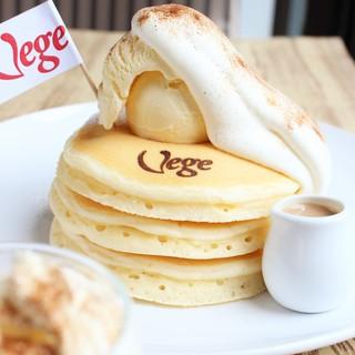 ★ふわふわなのに甘さ控えめ!全てバターミルク入りパンケーキ♪