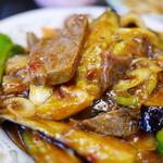 48451517 - ラムと茄子のピリ辛定食