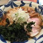 神田 磯野 - 醤油ラーメン¥780/麺大盛¥120