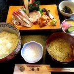 海彦 - 料理写真:刺身定食!