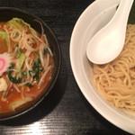 48459687 - 辛野菜つけ麺(辛み3) ¥970