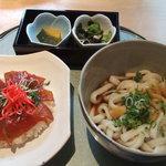志摩のうまいもん処 味福 - てこね寿司セット1000円