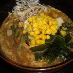 たきの家 - 担々ごまの醤油ラーメン(メニュー:ごまラーメン)/たきの家(箱根)