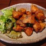 蔵くら - 鶏ボンチリの辛ーいフリット