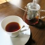 土日カフェ 楽市楽座 - 紅茶