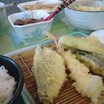 48463323 - 天ぷら定食A(6品:野菜3種・魚3種)730円