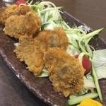 善作 - 牡蠣の天ぷら