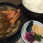 善作 - 蟹の味噌汁