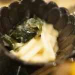 おばんざいカエル - ウド酢味噌和え