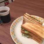 アグロックカフェ - サンドイッチ