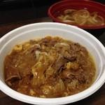 麺吉 どんどん - H.28.3.11.昼 肉カレー丼+ミニうどんセット 1,037円税込