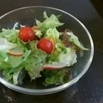 48474178 - セットの野菜サラダ