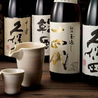 ★日本酒マイスターが酒蔵と直接取引。常時:15種類★