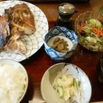 季節料理 なかはら - 「鯛のお頭焼き定食」 ¥850(税込)