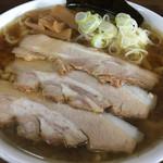 太麺屋 - 極太麺普通盛りあぶらっぽく650円①