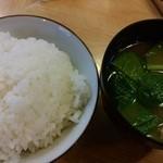 48477320 - ご飯&味噌汁