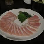 筍庭 - 朝〆地鶏のお刺身