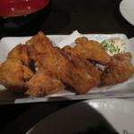 筍庭 - 大山地鶏の竜田揚げ