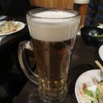 筍庭 - 生ビール
