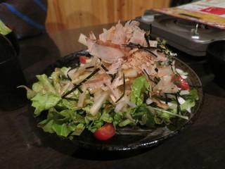 博多もつ鍋専門 食べ放題居酒屋 筍庭 - 完熟大根のシャキシャキ和風サラダ