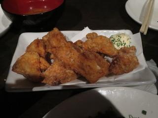 博多もつ鍋専門 食べ放題居酒屋 筍庭 - 大山地鶏の竜田揚げ