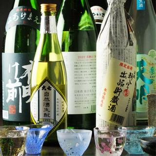 人気の獺祭も!料理に合う、極上の日本酒を楽しむ